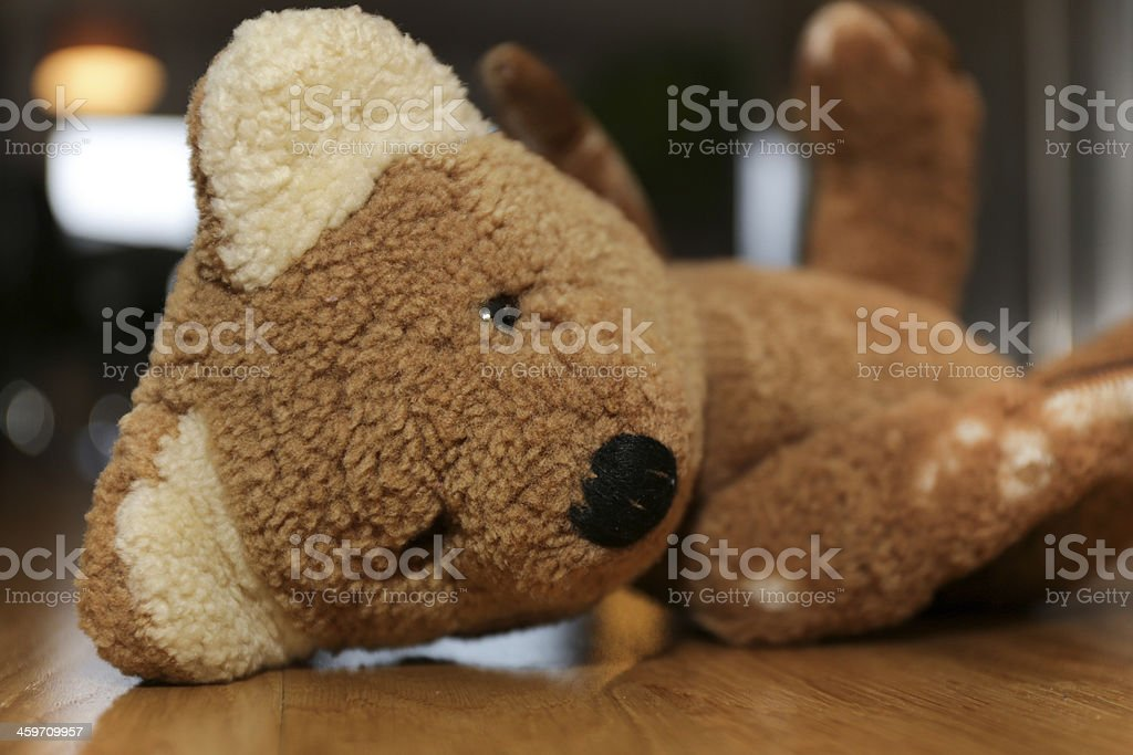 Old teddy bear royalty-free stock photo