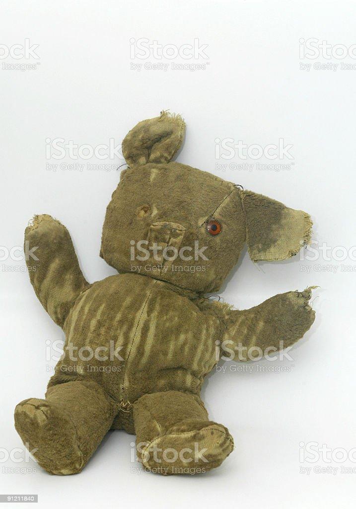 Old Teddy Bear stock photo