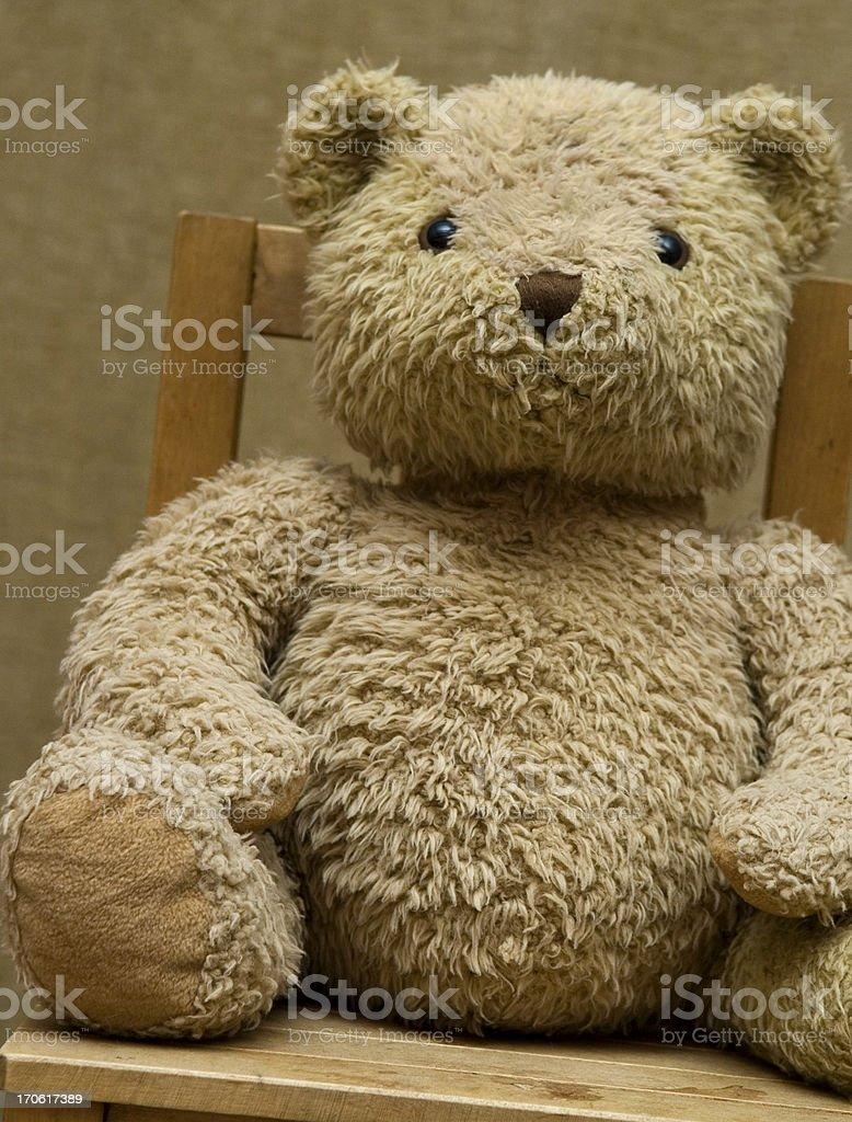 Old Teddy stock photo
