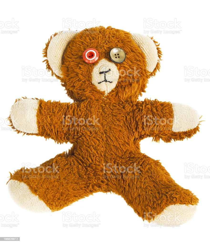 Old Teddy royalty-free stock photo