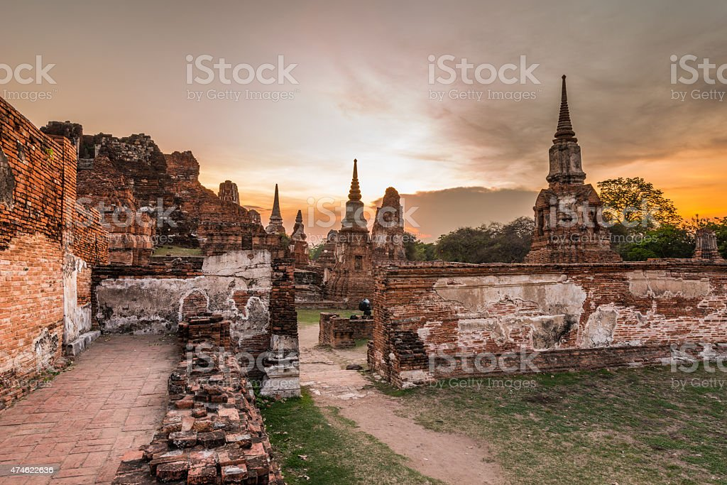 Old Temple Architecture stock photo