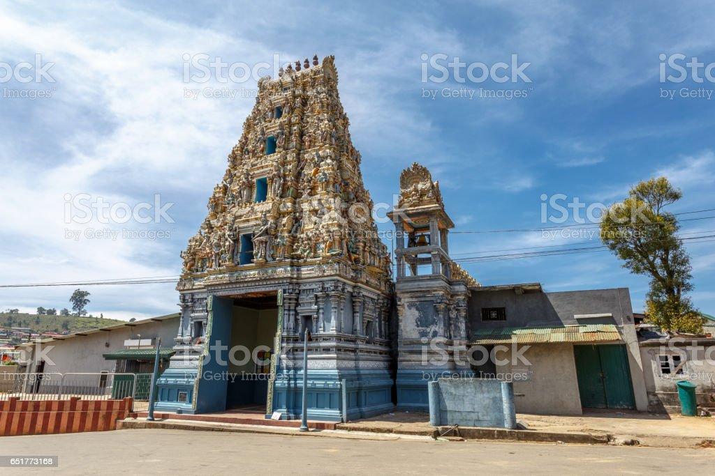 Old Temple in Nuwara Eliya. stock photo