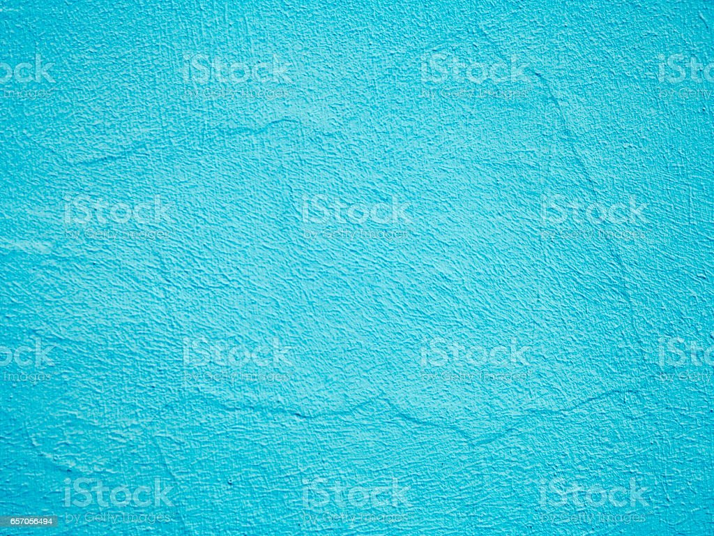 Old texture turquoise cracked wall stock photo