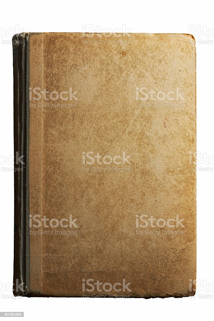 old textured book royalty-free stock photo