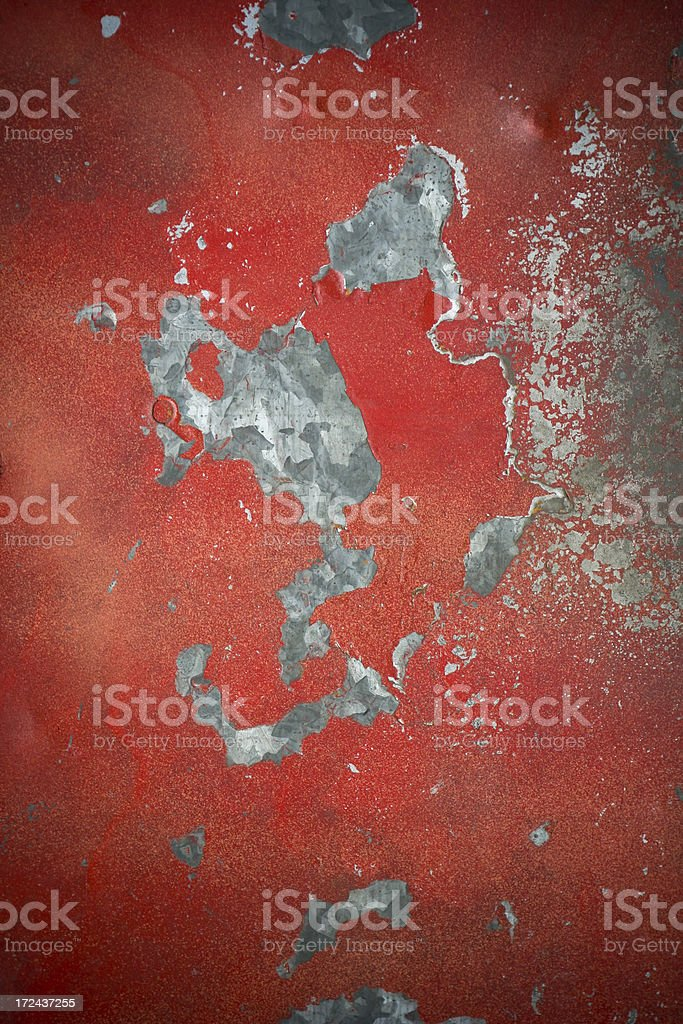 Old textured metal sheet stock photo
