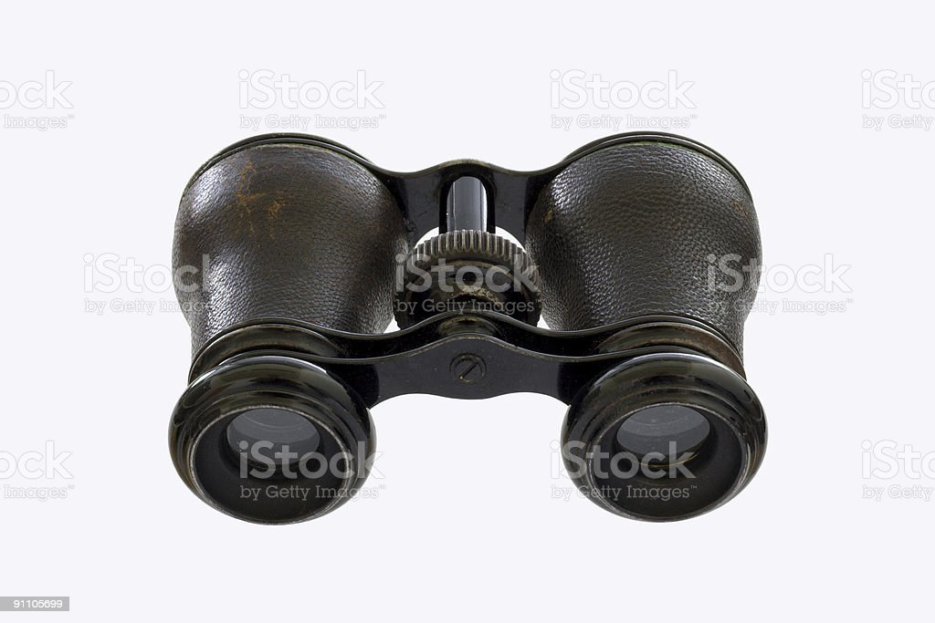 Old theater glasses royalty-free stock photo