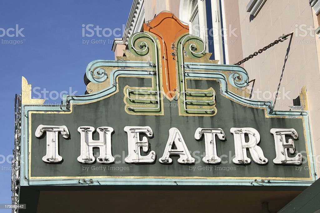 Old Theatre royalty-free stock photo
