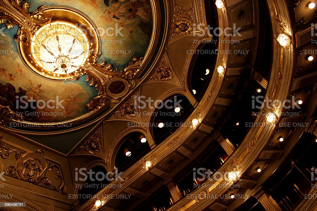 Old theatre stock photo