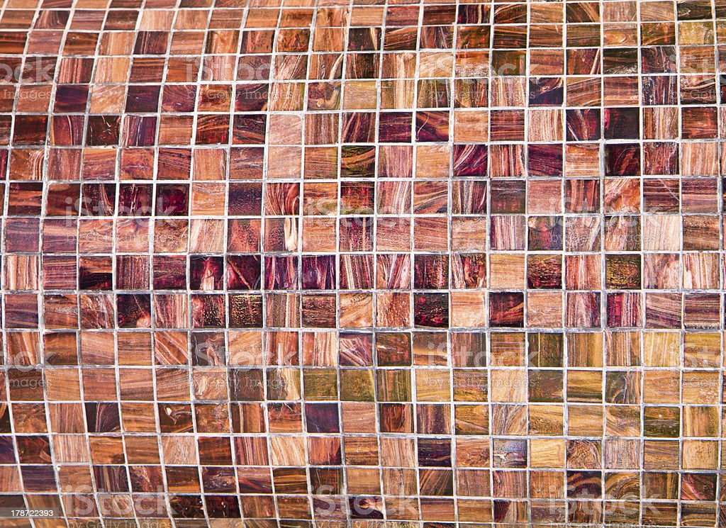 old tiled wall grunge retro style royalty-free stock photo