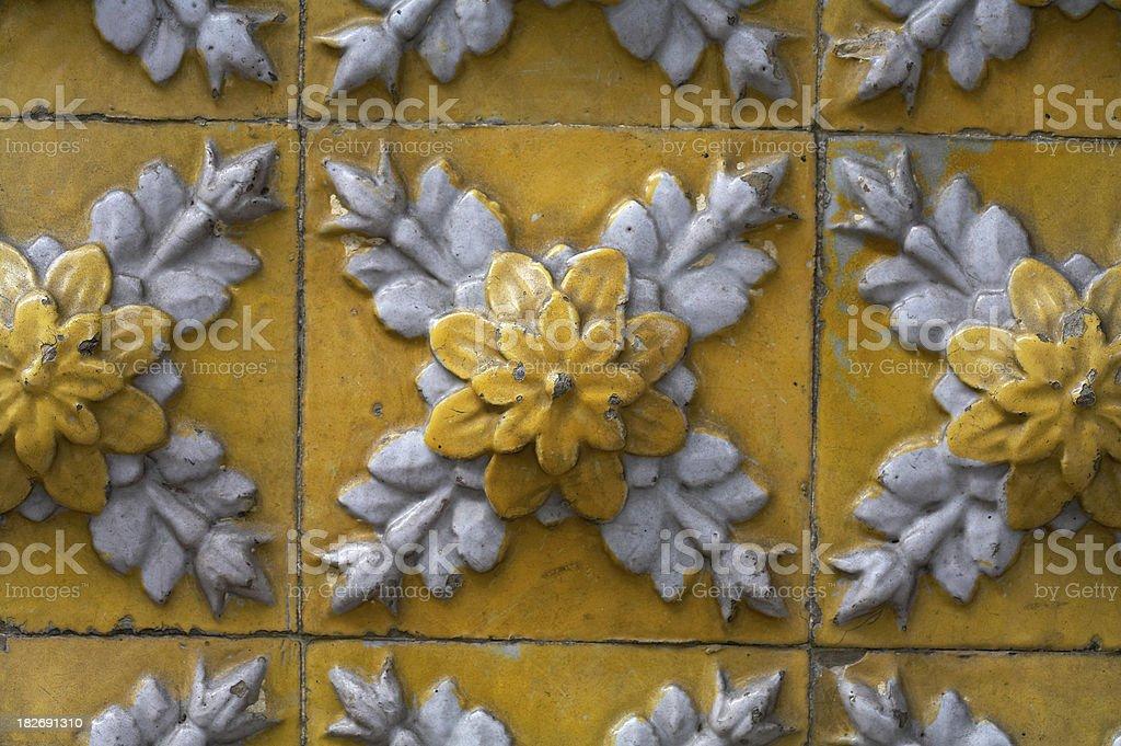 Old Tiles (XIX) royalty-free stock photo