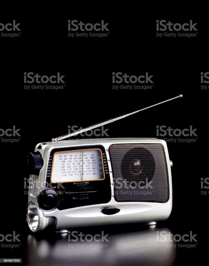 Old Time Radio. stock photo