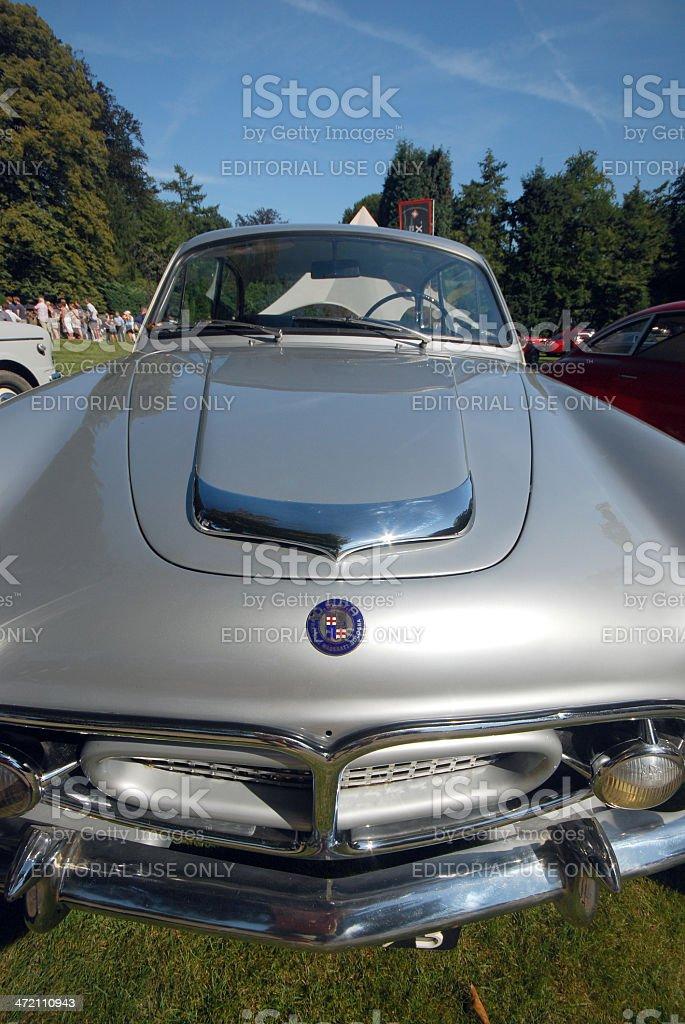 Old timer Maserati royalty-free stock photo