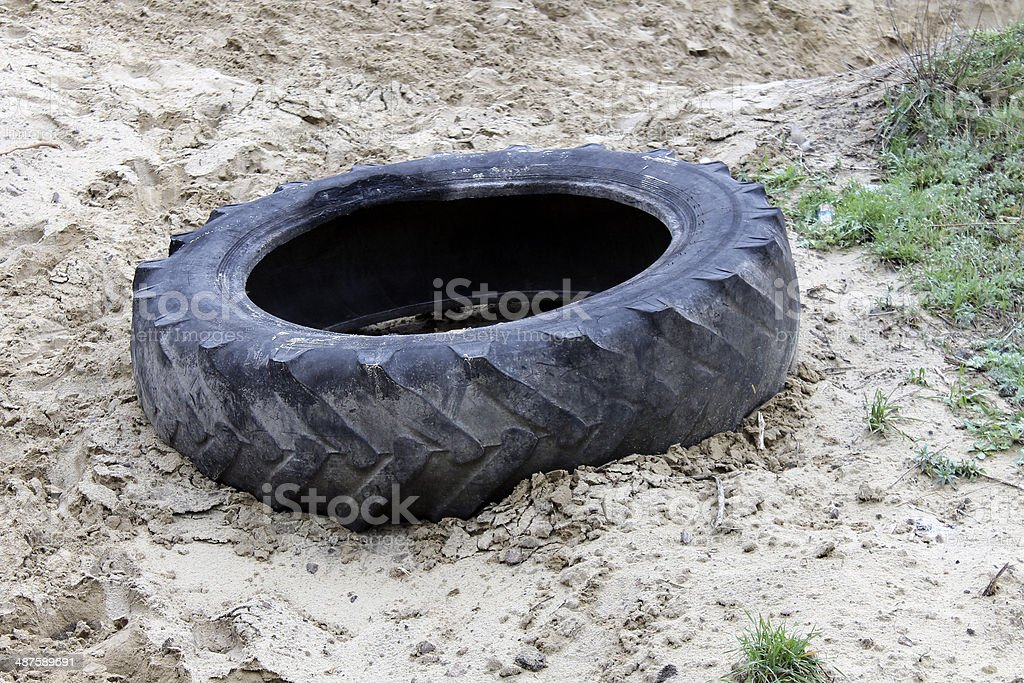 old tire royalty-free stock photo