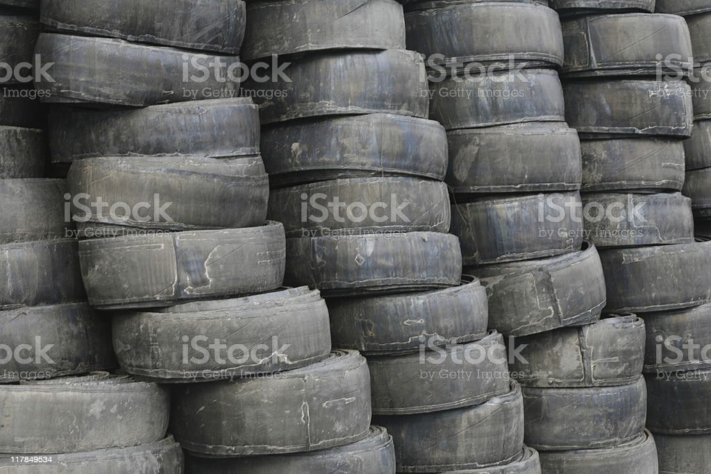 Old Tires royalty-free stock photo