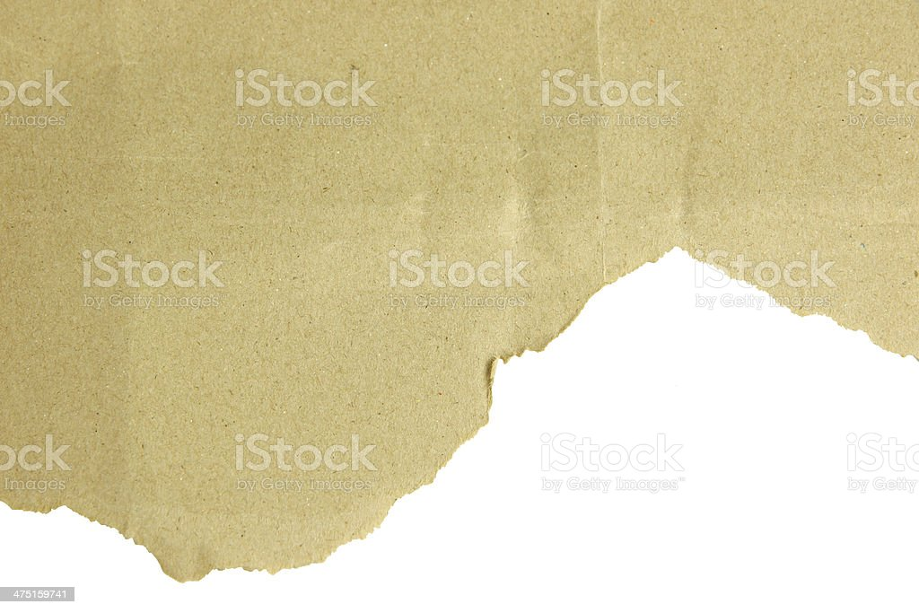 Old torn paper. royalty-free stock photo
