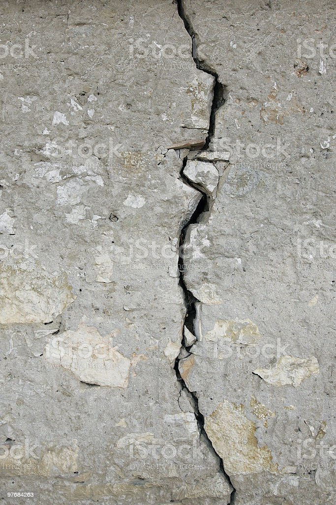 old torned stone wall royalty-free stock photo