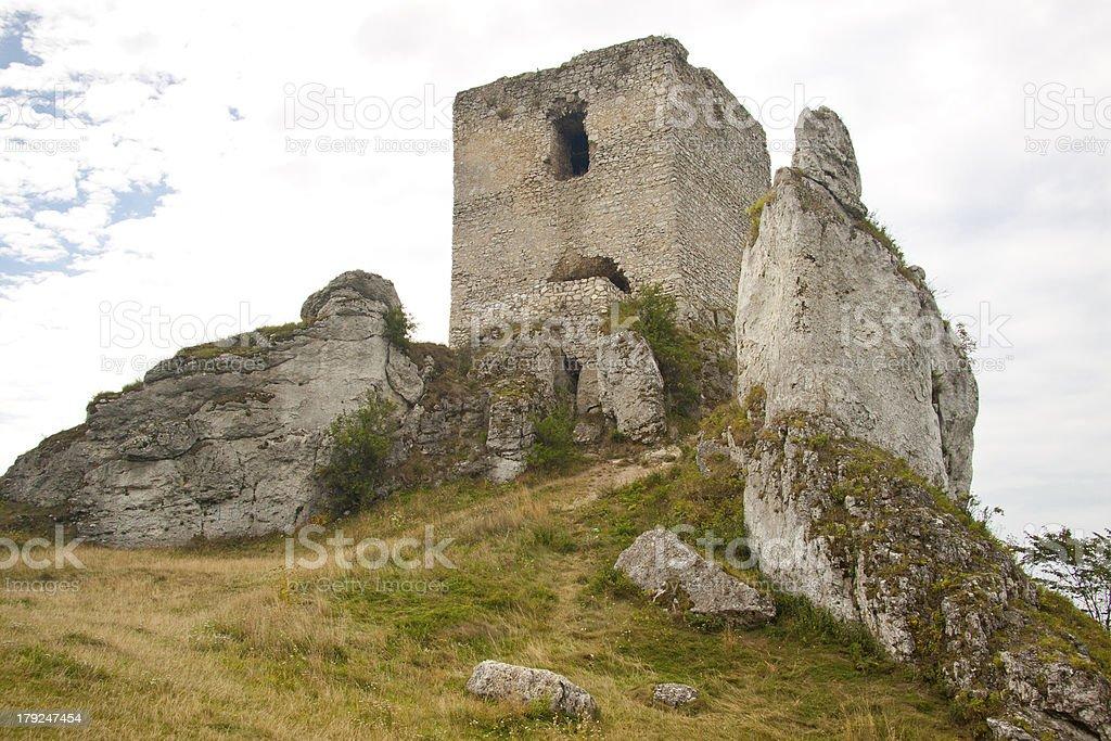 Old tower - Olsztyn, Poland. royalty-free stock photo