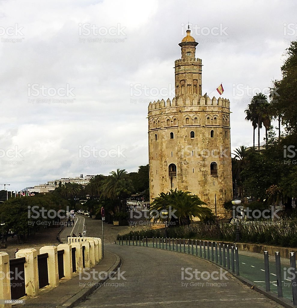 old tower stock photo