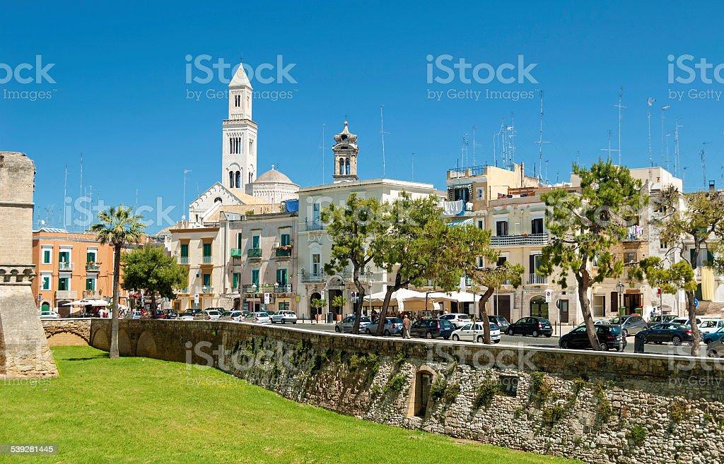 old town Bari stock photo