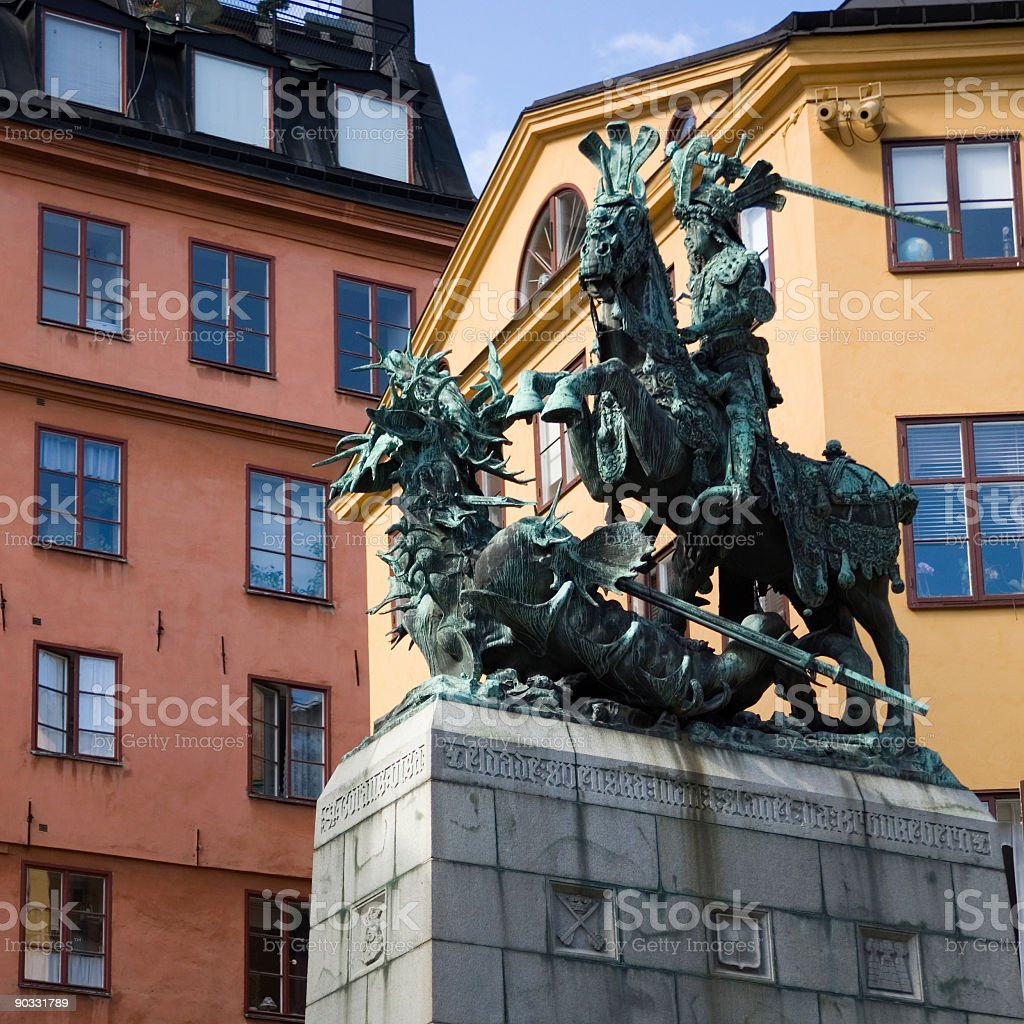 old town center stockholm sweden stock photo