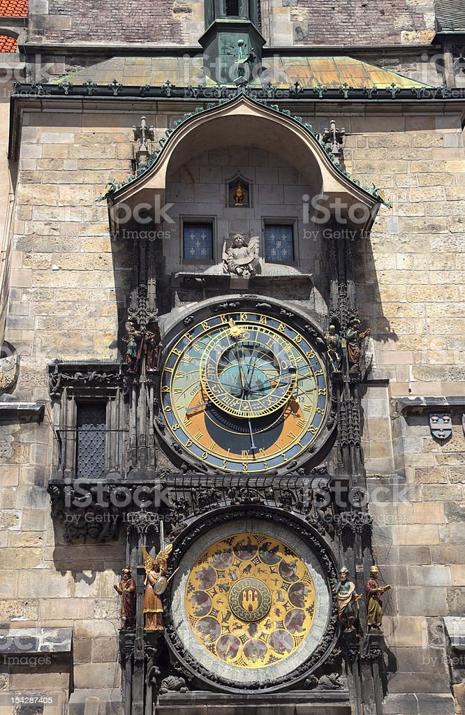 Old Town Clock royalty-free stock photo