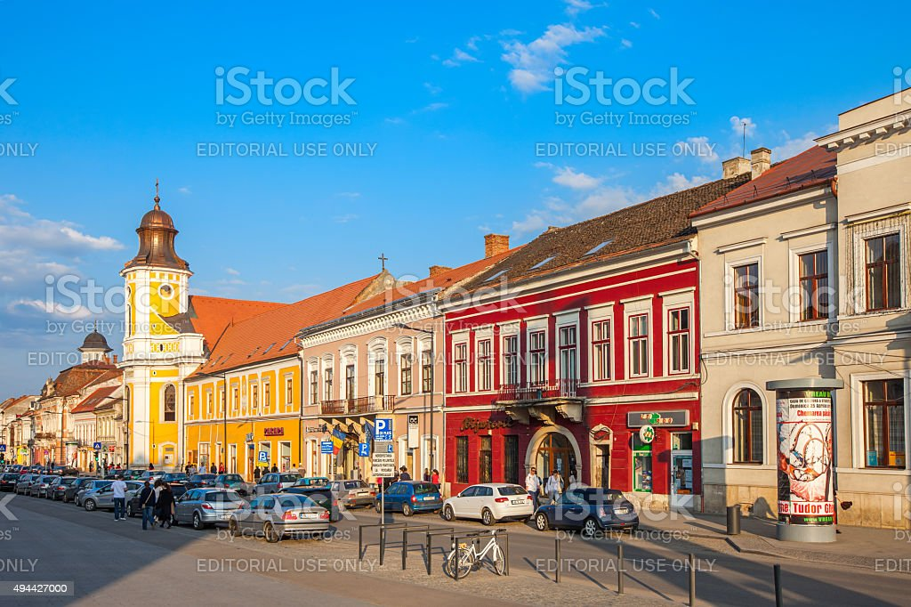 Old Town Cluj Napoca Romania stock photo