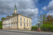 Old Town Hall Building in Pori, Finland