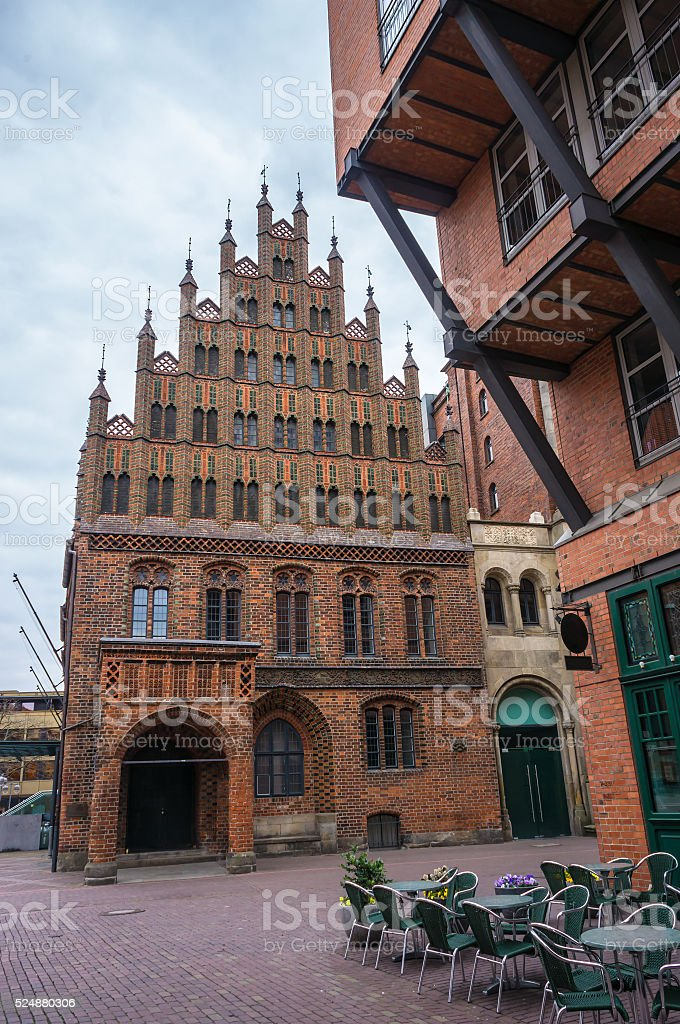 Old Town Hall in Hannover, Germany. stock photo