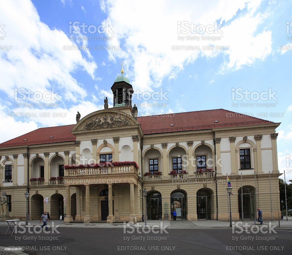 Old Town Hall, Magdeburg royalty-free stock photo