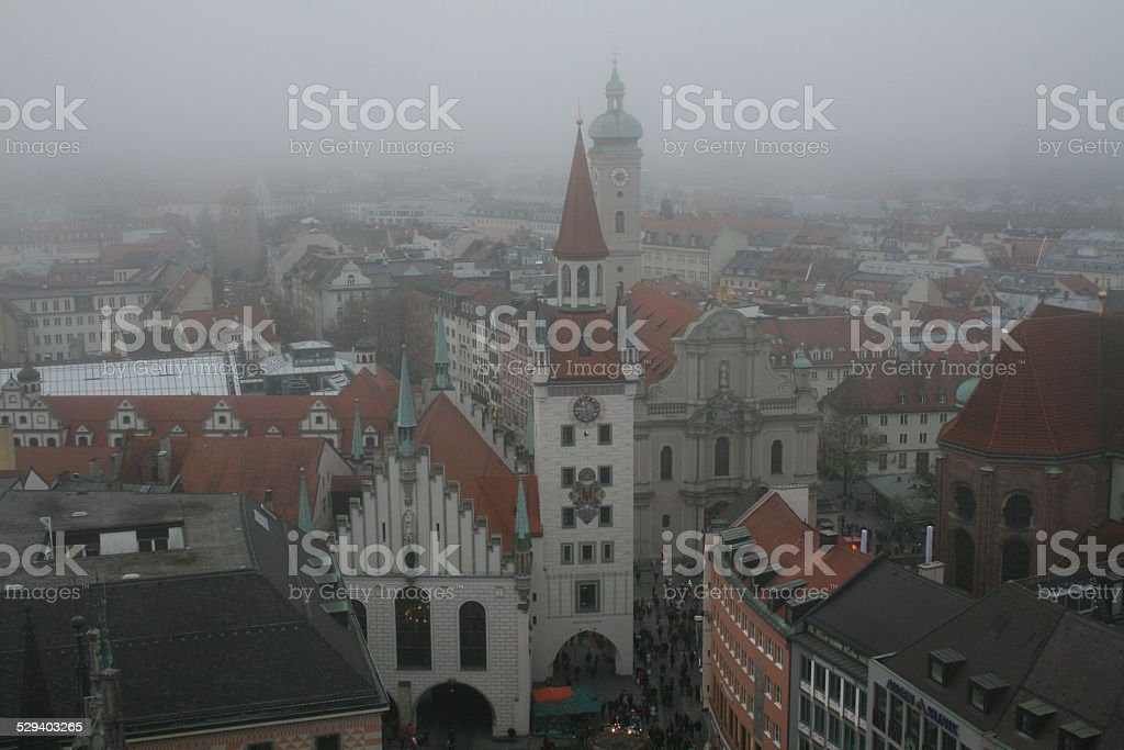Old Town Hall, Munchen stock photo
