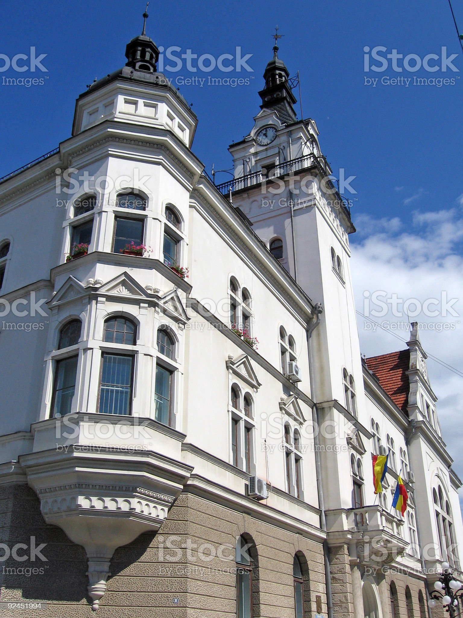 Old town hall royalty-free stock photo