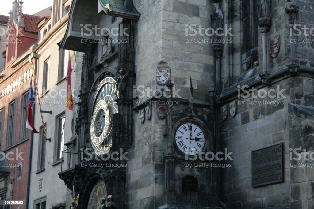 Old Town Hall Prague stock photo