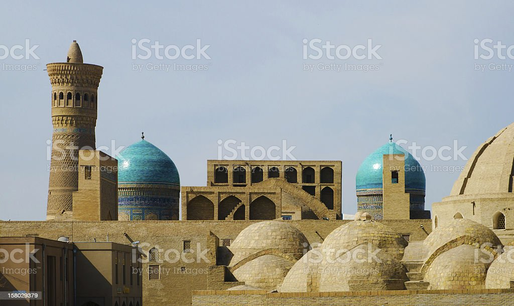 Old Town in Bukhara stock photo