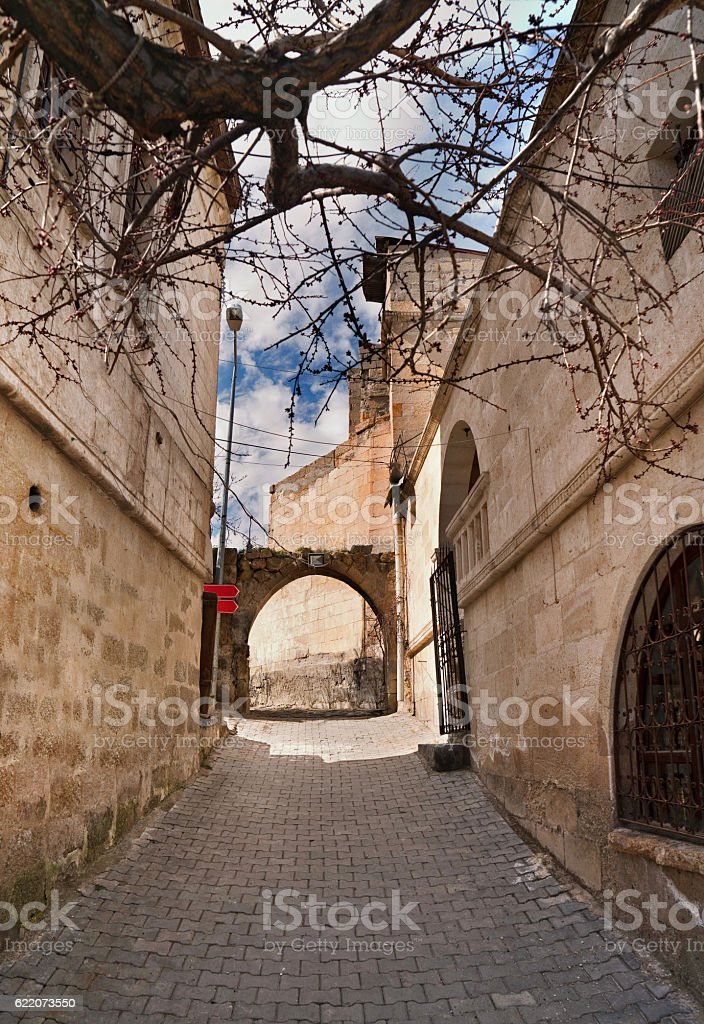 Old town in Cappadocia/Turkey stock photo
