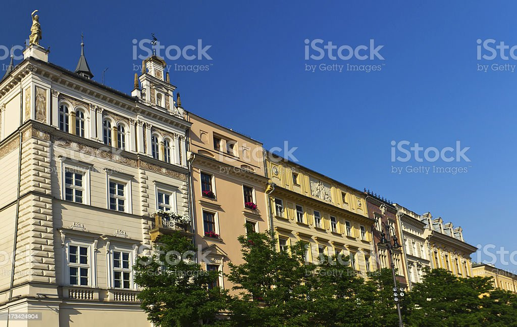 Old Town in Cracow, Poland royalty-free stock photo