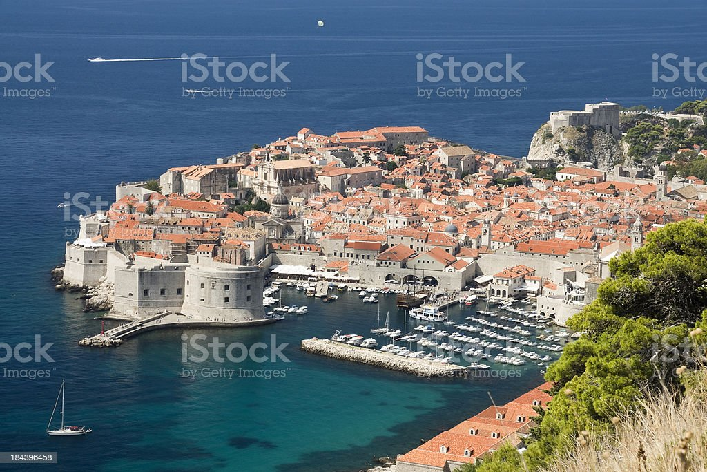 Old Town in Dubrovnik royalty-free stock photo
