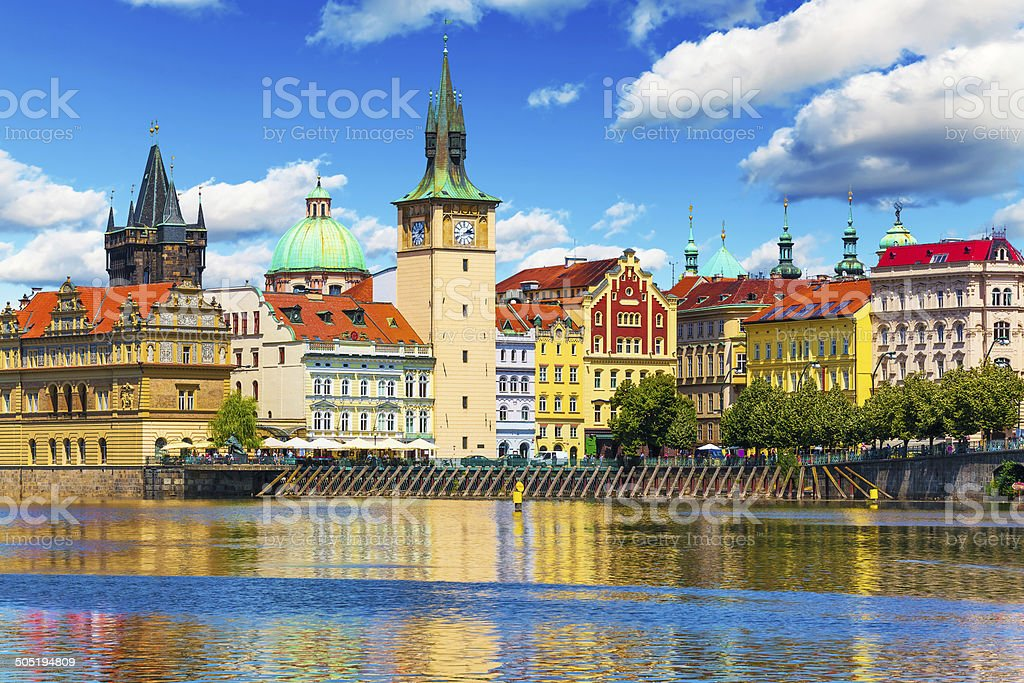 Old Town in Prague, Czech Republic stock photo