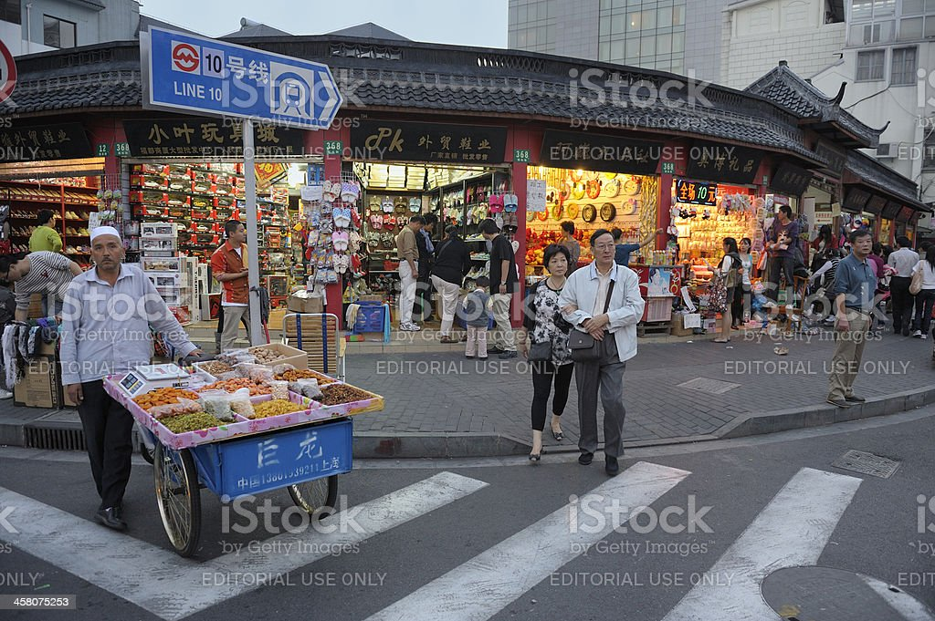 Old town in Shanghai royalty-free stock photo