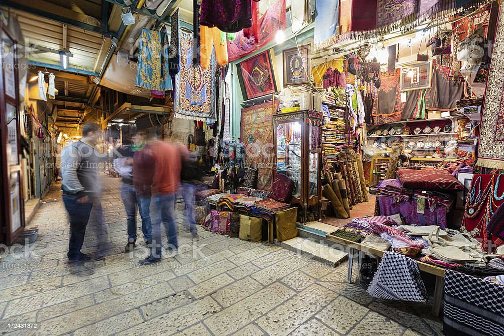 Old Town, Jerusalem, Israel stock photo