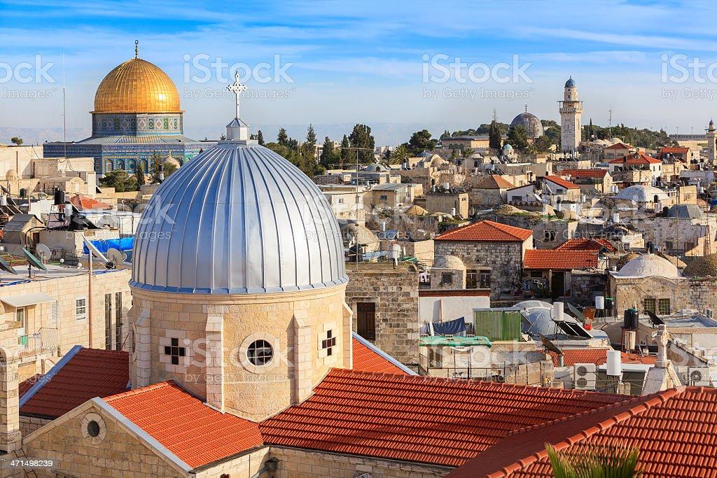 Old Town, Jerusalem, Israel royalty-free stock photo