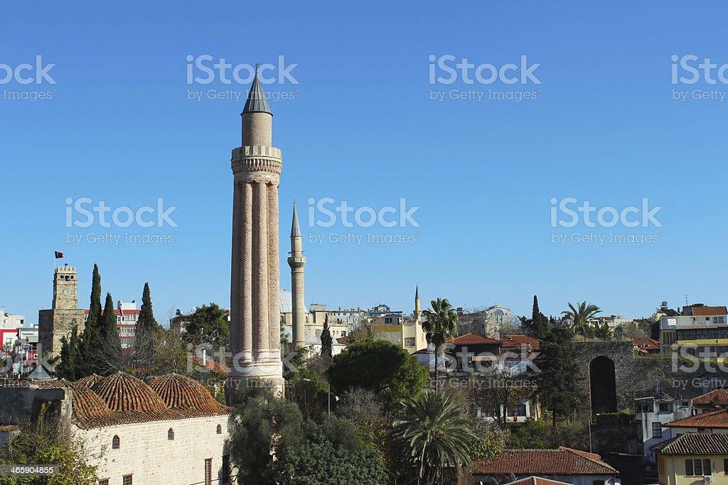 Старый город — Kaleici Стоковые фото Стоковая фотография