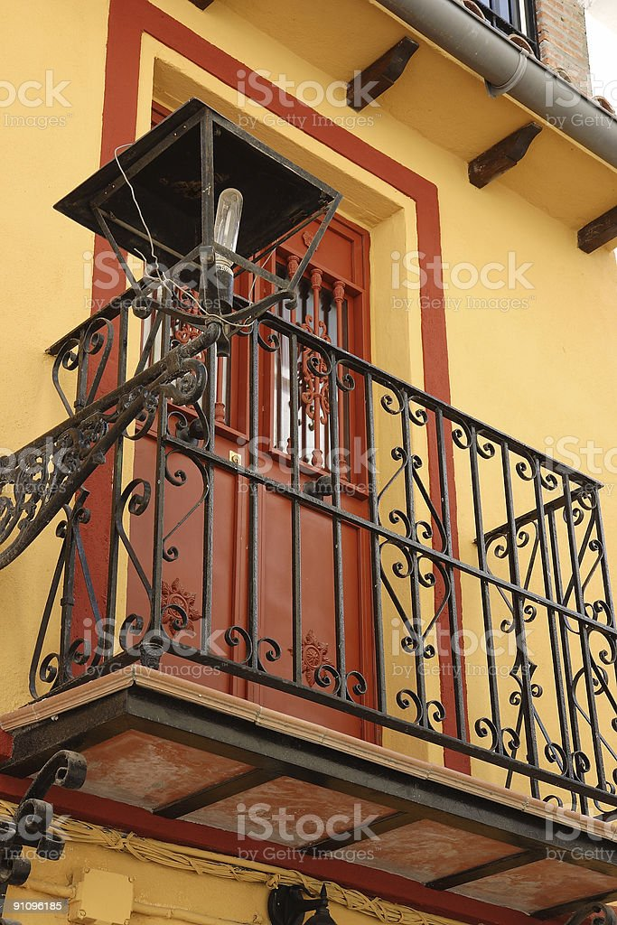old town marbella stock photo