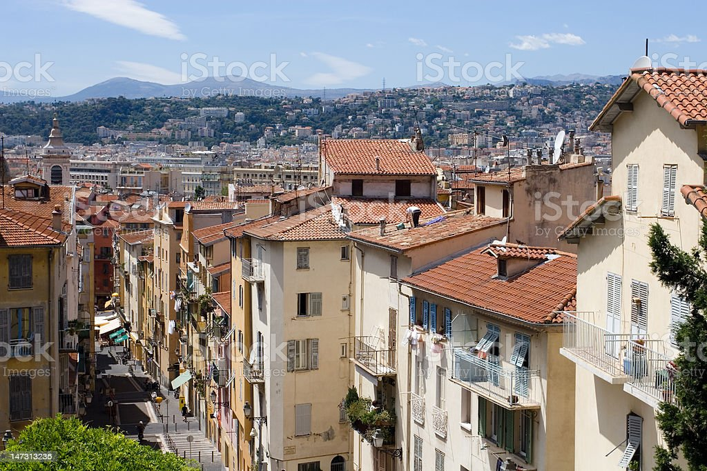 Old Town Nice royalty-free stock photo