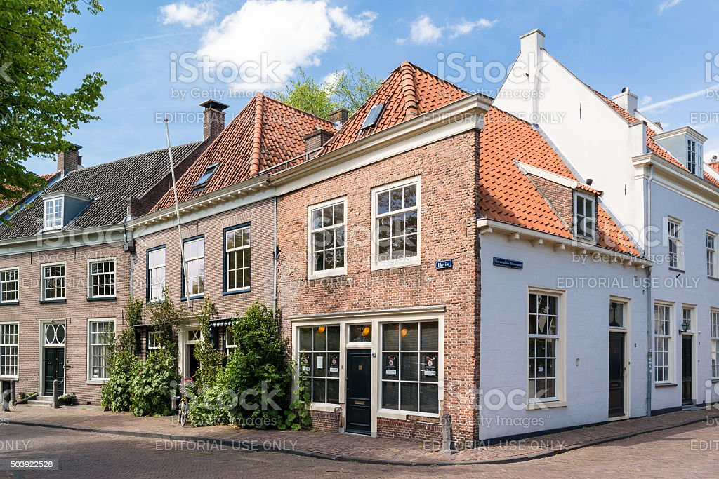 Old town of Amersfoort, Netherlands stock photo