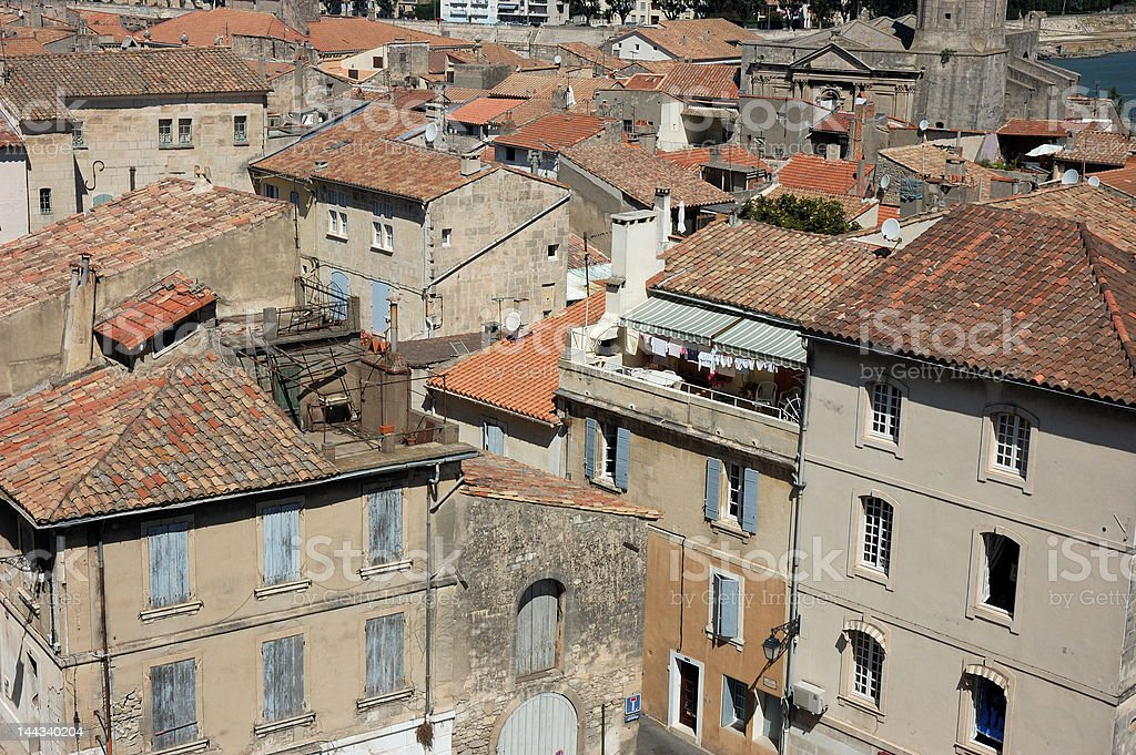 Old town of Arles, France royalty-free stock photo