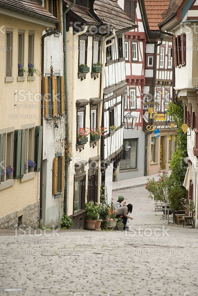 Old Town of Bad Wimpfen, Germany royalty-free stock photo