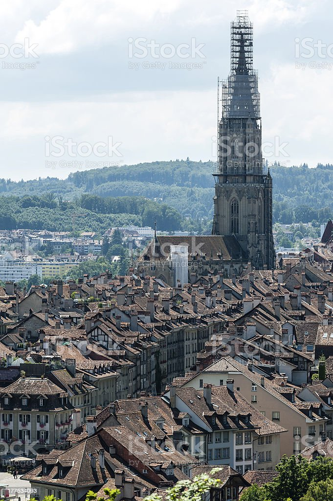 Old Town of Bern, Suisse royalty-free stock photo