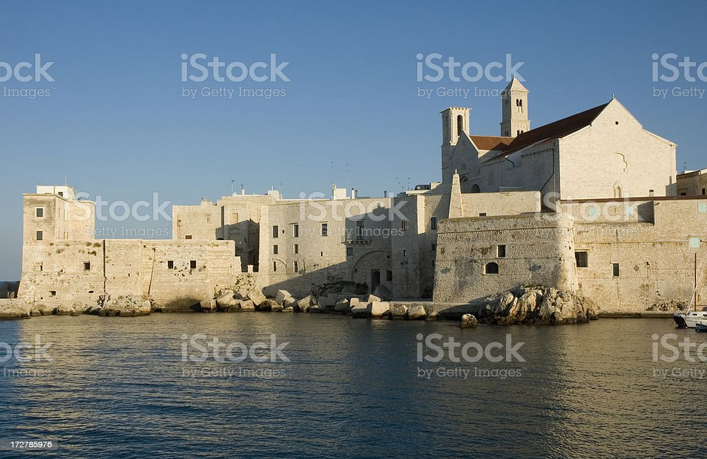 Old town of Giovinazzo, Puglia - South Italy royalty-free stock photo