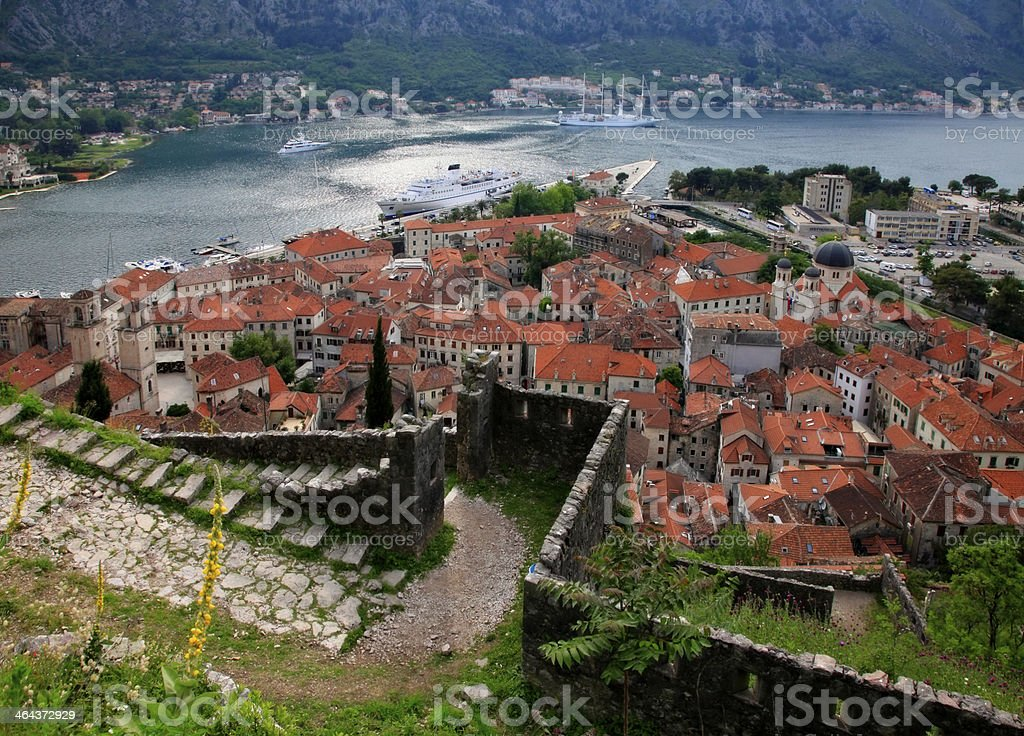 Old town of Kotor royalty-free stock photo