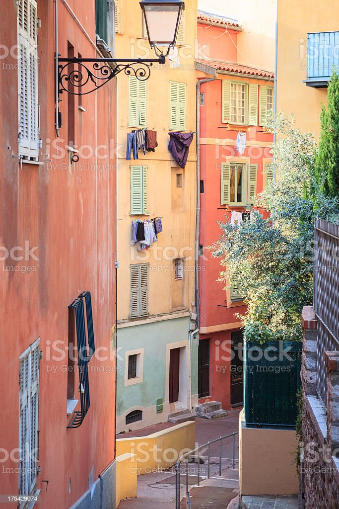 Old town of Nice, French Riviera, France royalty-free stock photo
